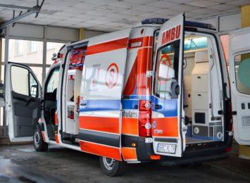 Pietrowice Wielkie: Zablokowana droga po wypadku