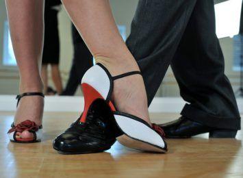 Koncert Klubu Tańca Towarzyskiego SPIN w WCK