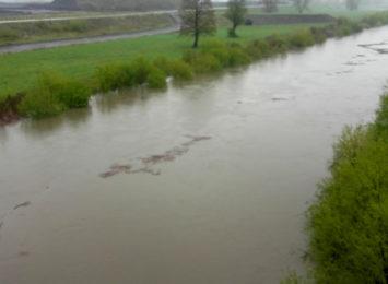 Sytuacja na rzekach w regionie