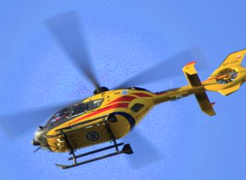 Helikopter LPR lądował przy wiślance