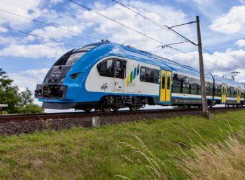 Podmyte tory na szlaku kolejowym Wodzisław Śląski - Olza