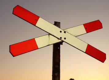 Uwaga kierowcy! Ostrożnie na przejeździe kolejowym w Wiśle
