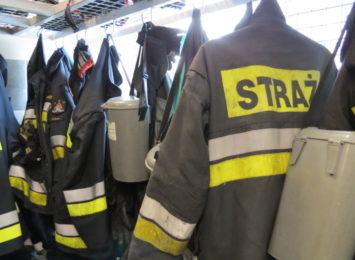 Pożar na terenie elektrociepłowni Moszczenica w Jastrzębiu-Zdroju