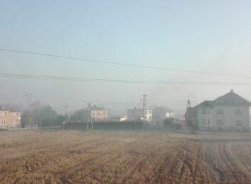 Zła jakość powietrza z powodu pożarów na Ukrainie