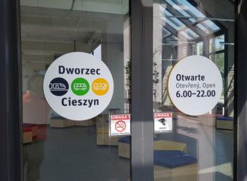 Ograniczenia na dworcu i autobusach dalekobieżnych w Cieszynie