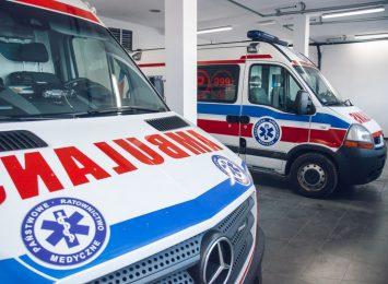 75-latek zaatakował ratowników medycznych. Grożą mu 3 lata więzienia