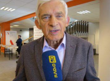Jerzy Buzek - na niego głosowało najwięcej wyborców w regionie