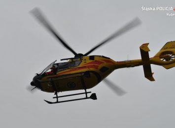 Poważny wypadek w trakcie prac w Rybniku