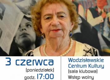 Irena Sauer w Wodzisławskim Centrum Kultury