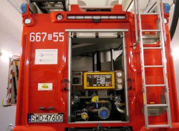 Tragicznym pożar w Wodzisławiu. W płomieniach zginął mężczyzna
