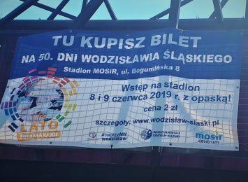 Tu kupisz bilety na Dni Wodzisławia Śląskiego