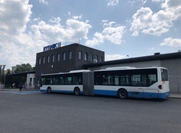 Brak ciepłej wody na dworcu autobusowym w Rybniku