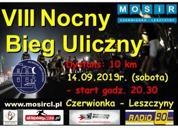 Trwają zapisy na nocny bieg w Czerwionce-Leszczynach