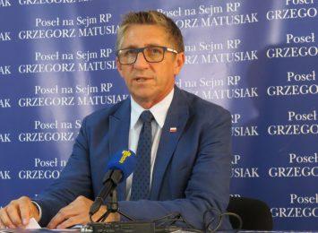Poseł Matusiak: ''Nie zaprosiłem wójta Mszany na spotkanie, bo by się nudził''