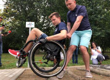W Rybniku powstał tor do nauki jazdy na wózkach [FOTO]