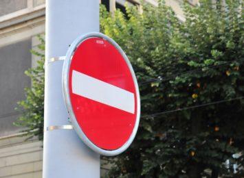 Uwaga kierowcy, zamknięto drogę w Wodzisławiu