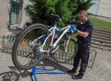 Kolejna akcja znakowania rowerów w Jastrzębiu- Zdroju