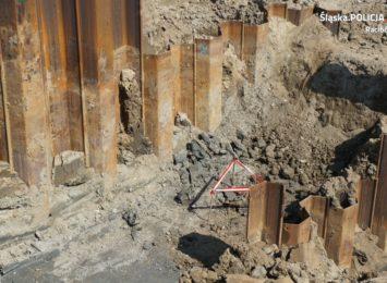 Niewybuchy znalezione w budowanym zbiorniku