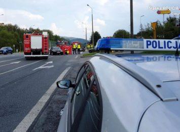 Śmierć motocyklisty w Ustroniu
