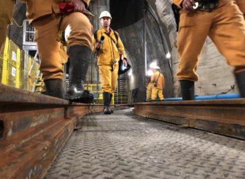 Jastrzębie: Byliśmy ponad kilometr pod ziemią w nowym szybie Jan Paweł [FOTO, WIDEO]