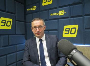 Kuczera w Radio 90: Daliśmy policji działkę i więcej nie damy