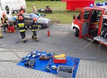Zawody strażaków w ratownictwie drogowym. Możesz je zobaczyć