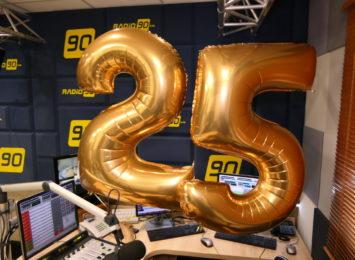 Radio 90 świętuje swoje 25. urodziny!
