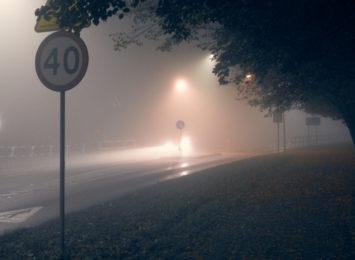 Mgła w całym regionie! Uważajcie na siebie!
