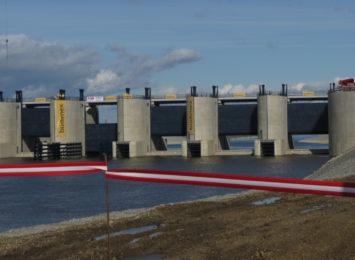 Racibórz: Rzeka Odra przepięta! Zbiornik uchroni przed powodzią [WIDEO,FOTO]