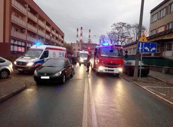 Potrącenie pieszych w Chwałowicach