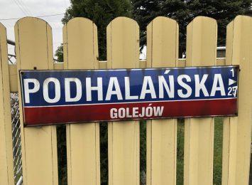 Google nadal nie poprawiło nazwy ulicy w Rybniku Golejowie
