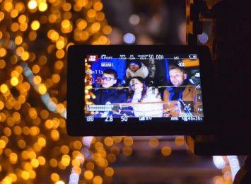Pszów: Kręcili świąteczny klip. Będzie nowa pastorałka! [WIDEO,FOTO]