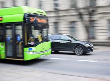 E-bus na ulicach Raciborza