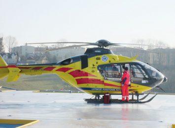 LPR wydłuża godziny pracy w bazie w Katowicach, by transportować pacjentów