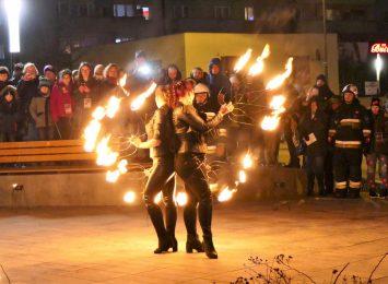 WOŚP w Pszowie: Widowiskowy Teatr Ognia [WIDEO, FOTO]