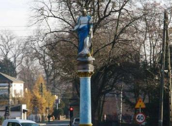 Kolumna Matki Boskiej w Rudach będzie odrestaurowana