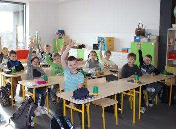 Żory Rogoźna: Dzieci już w murach nowej szkoły [FOTO]