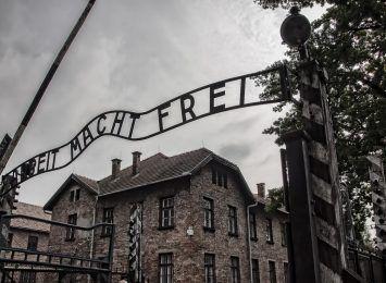 Wyzwolenie KL Auschwitz. Wystawa plenerowa na rybnickim deptaku