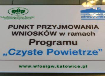 W Wodzisławiu Śląskim powstanie punkt konsultacyjny ''Czyste Powietrze''