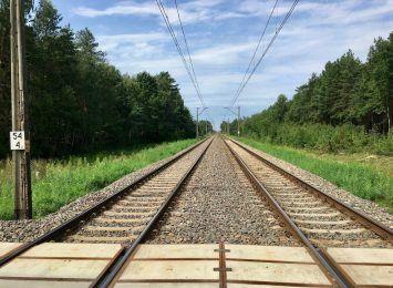 Wstrzymano ruch pociągów na trasie Rybnik-Chałupki. Powodem był uszkodzony gazociąg
