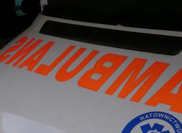Motocyklista ranny w wypadku w Ornontowicach