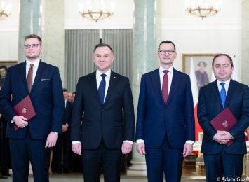 Michał Woś odebrał tekę ministra środowiska