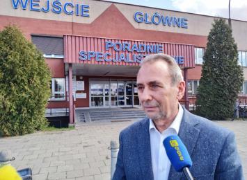 Dyrektor raciborskiego szpitala nie ma koronawirusa