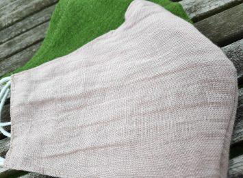 Lniane maseczki alternatywą dla bawełny
