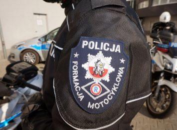 Kontrole motocykli. Wspólna akcja policji z Jastrzębia i Cieszyna