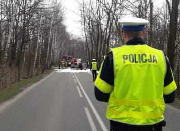 Rybnik: Kierowca spłonął w samochodzie [AKTUALIZACJA]