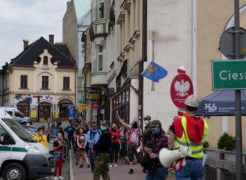 Protest w Cieszynie [FOTO]