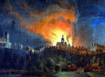 232 lata temu wybuchł największy pożar w historii Cieszyna