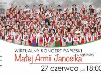 Wirtualny koncert górali dla Papieża [WIDEO]