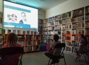 Sylwia Chutnik w bibliotece w Raciborzu. Spotkanie online